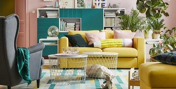 Пример из каталога IKEA 2018