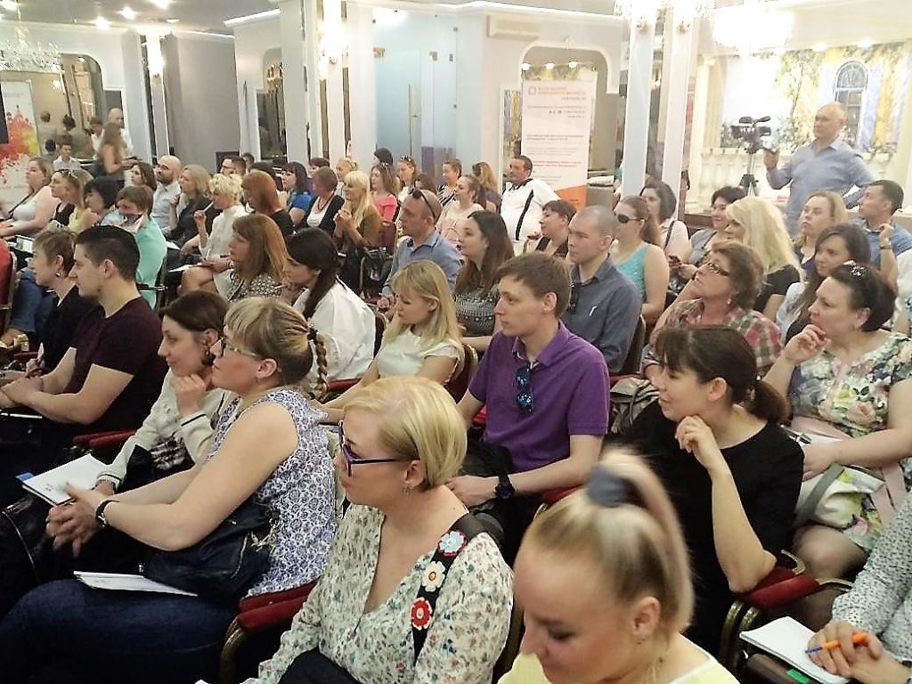 Мега-тренинг для продавцов и администраторов в Петербурге