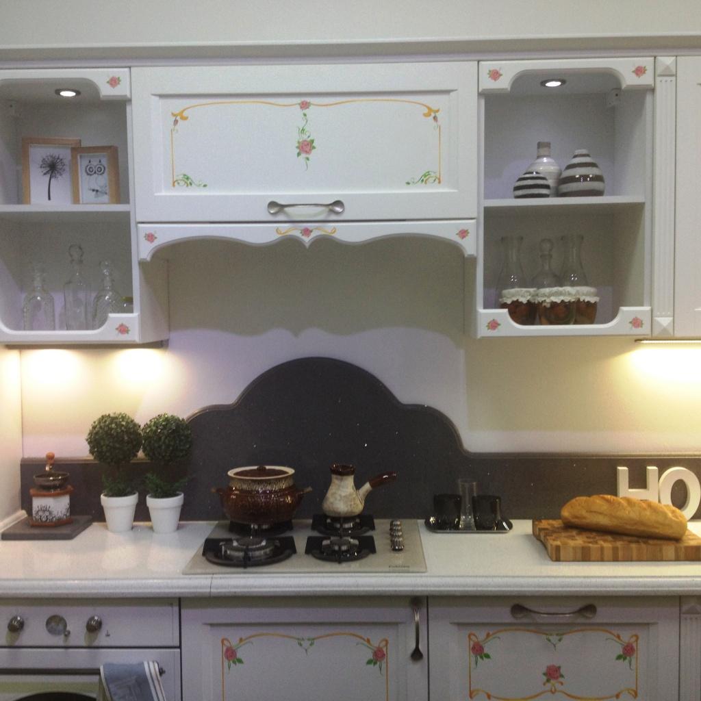 Мебельный мерчандайзинг в магазинчике в 30 кв. м кухня
